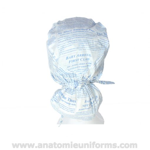 Rear view of the Surgical Cap Big Hair ANATOMIE Classic ANA1036b