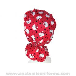 Rear view of the Surgical Cap Big Hair ANATOMIE Classic ANA1038b