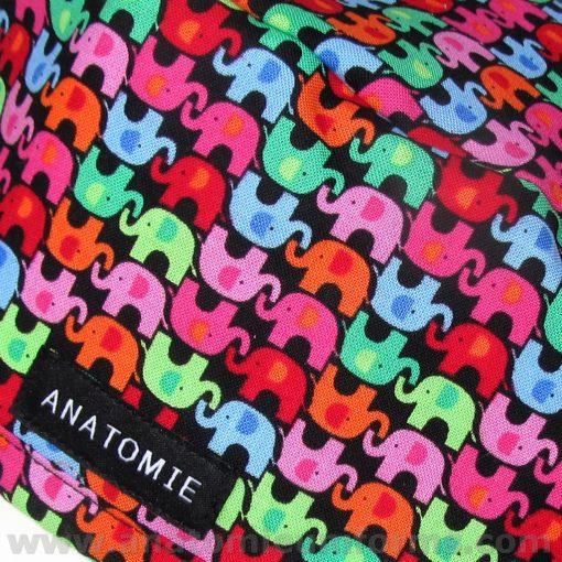 Gorros Quirofano ANATOMIE Elefantes colores ANA045 b