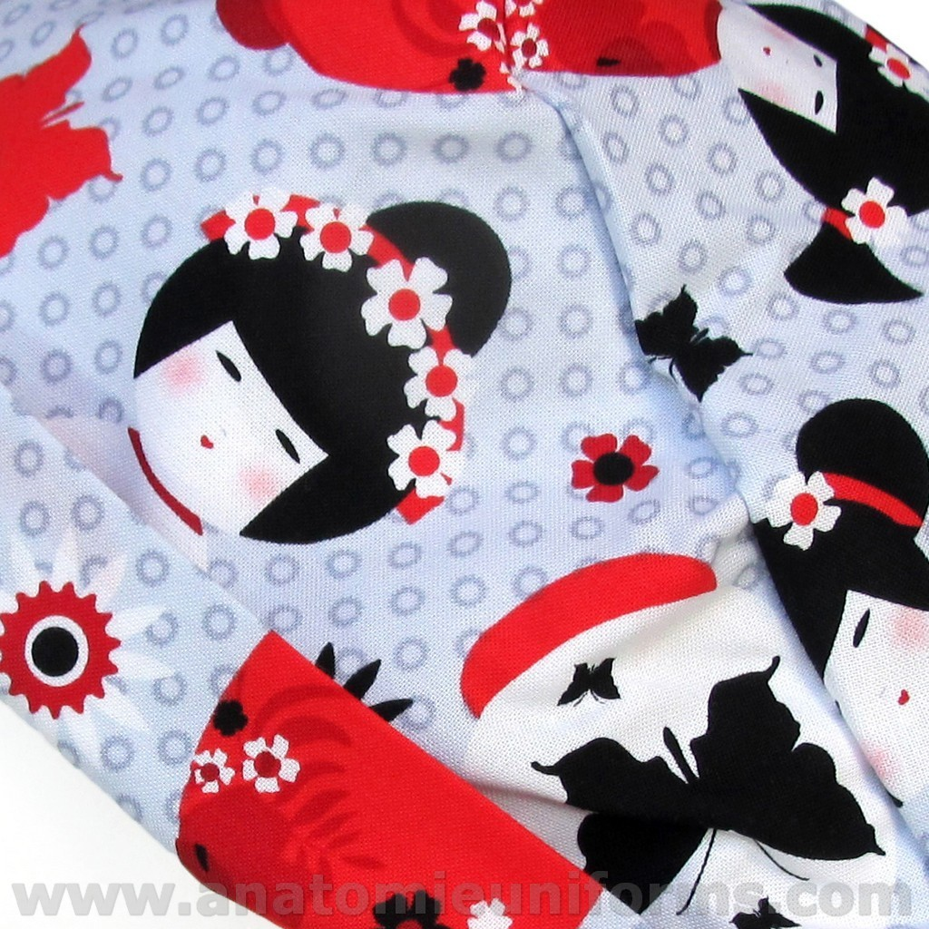 ANATOMIE Nurses Caps 024b Supertie Geishas