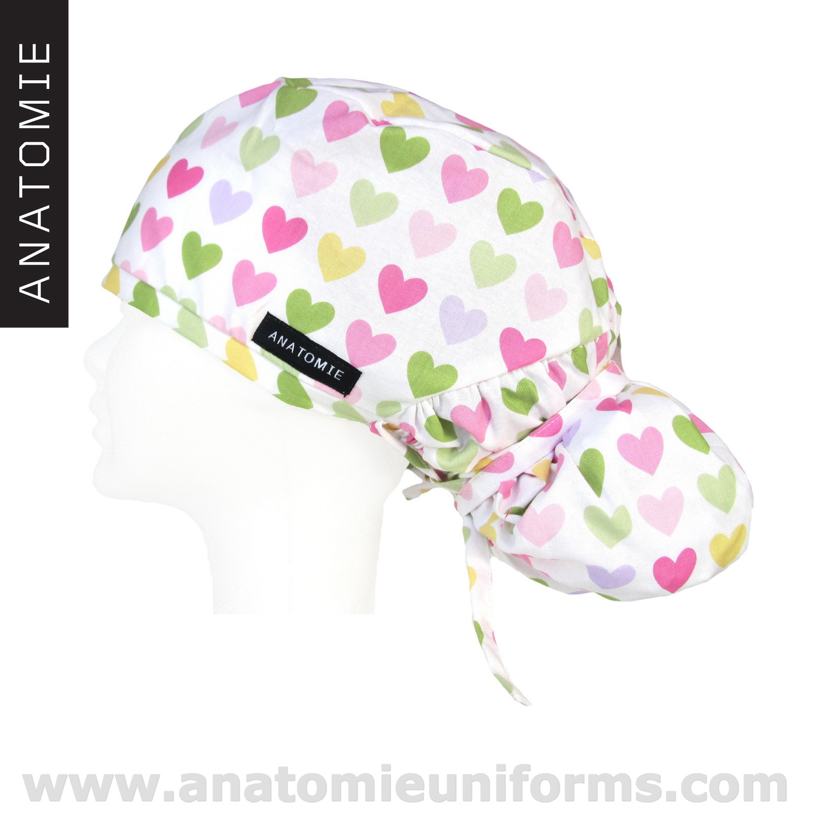 ANATOMIE Surgical Caps female Hearts - ANA1058