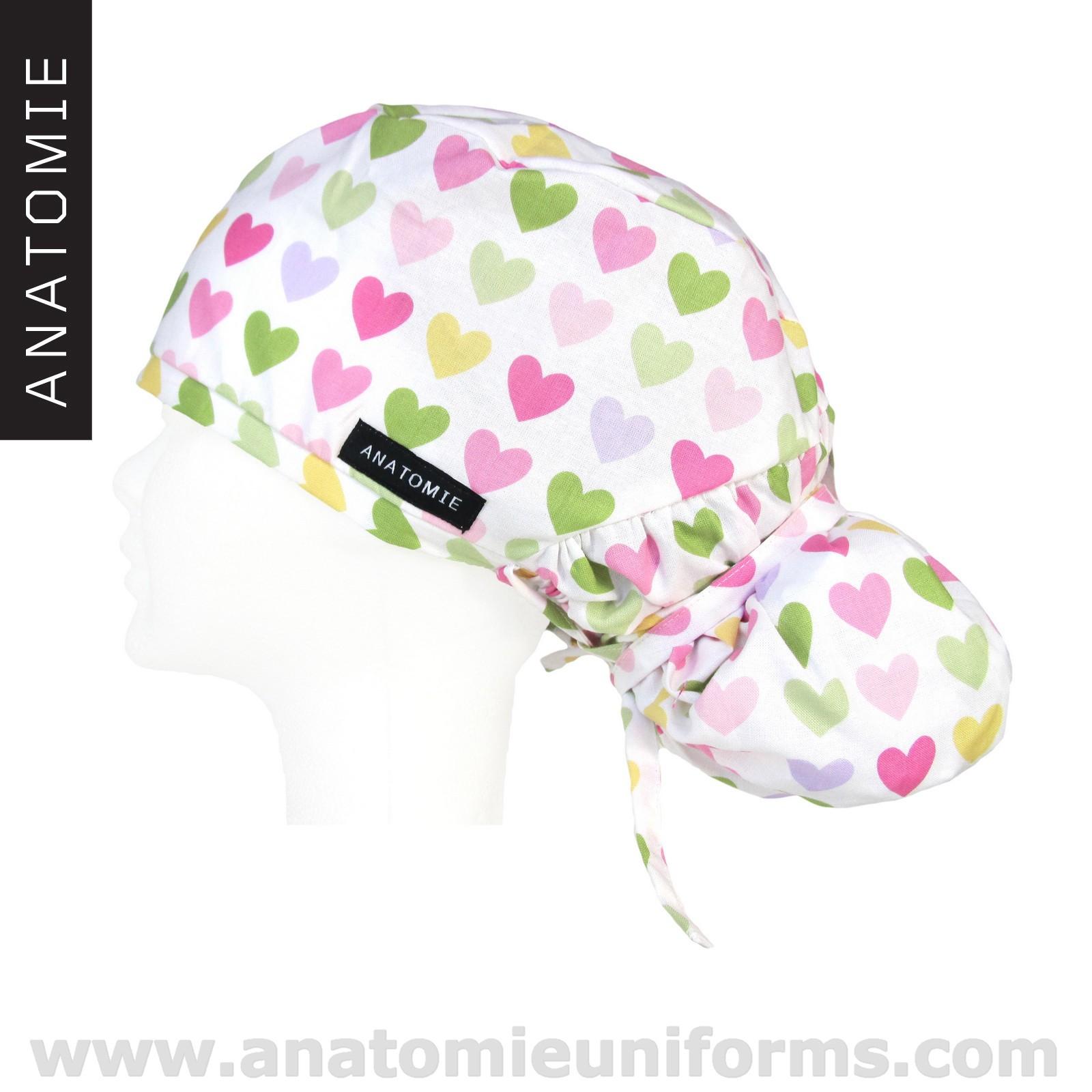 ANATOMIE Surgical Caps female Hearts - ANA1058