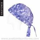 ANATOMIE Veterinary Caps Supertie 030 Purple Butterflies