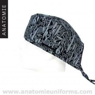 Surgical Caps ANATOMIE black motherboard ANA050