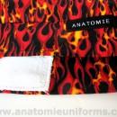 ANATOMIE BANDANA Cirugias Tela Llamas – 017c