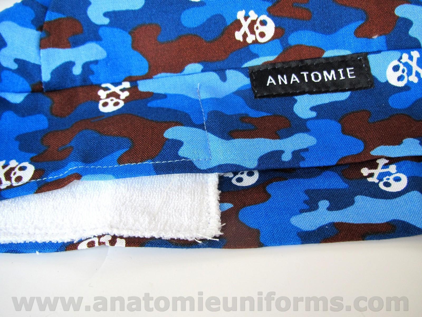 ANATOMIE BANDANA Quirofano Camuflaje Azul - 019c
