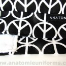 ANATOMIE BANDANA Quirofano Tela Peace Love – 016c
