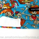 ANATOMIE BANDANA for Surgery Day of the Dead – 020c