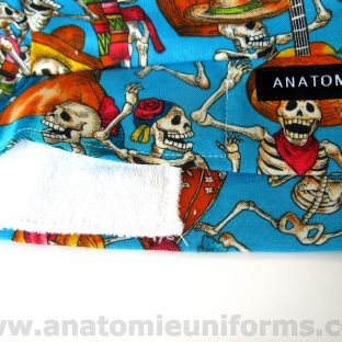 ANATOMIE BANDANA for Surgery Day of the Dead - 020c