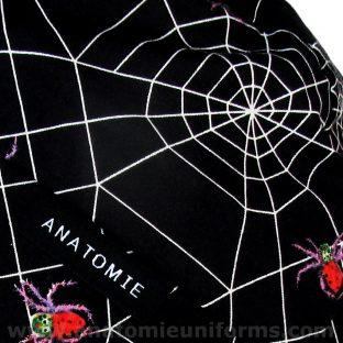 ANATOMIE BANDANA para médicos tela araña - 012b