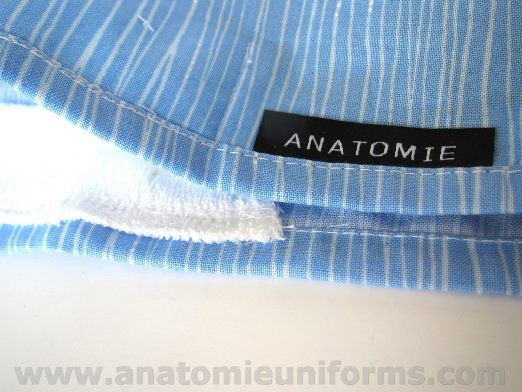 Blue Surgical Caps with Lines - ANA055
