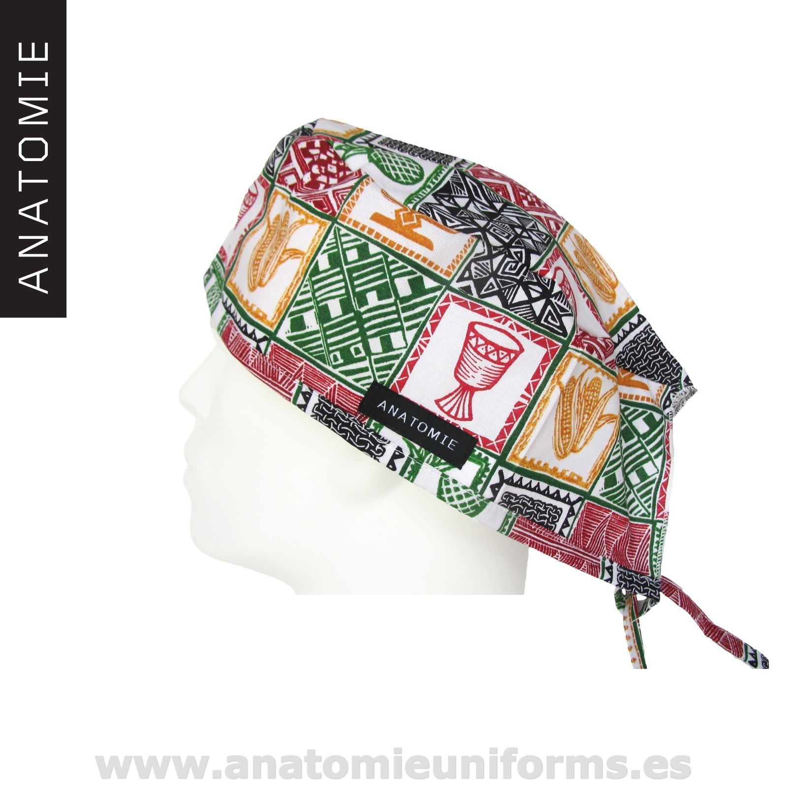 Surgical Caps ANATOMIE African Ethnic - ANA042