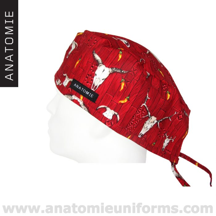 Surgical Caps ANATOMIE Red Western – ANA046