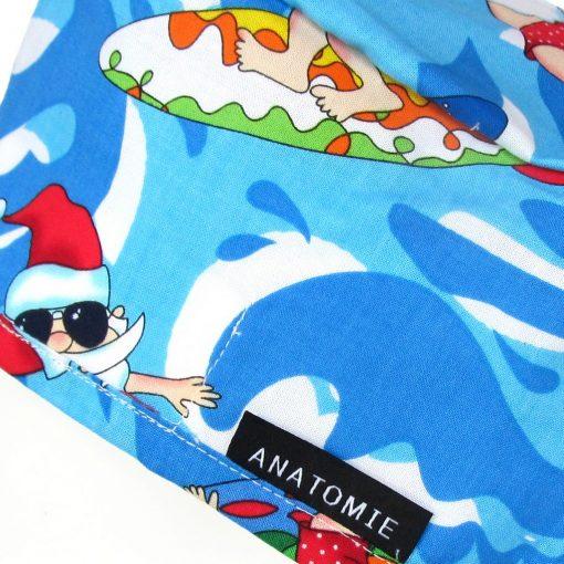 Surgical Caps Blue Man Santa Claus - ANA053