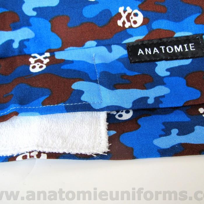 ANATOMIE BANDANA Doctors Blue Camo - 019c