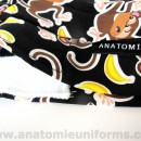 ANATOMIE BANDANA Health profesionals Monkeys Bananas – 015d