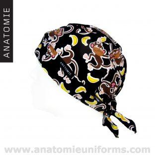 ANATOMIE BANDANA Sanitary Monkeys Bananas - 015