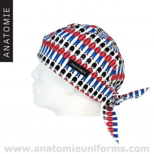 ANATOMIE BANDANA Surgeons Royal British Guard - 010