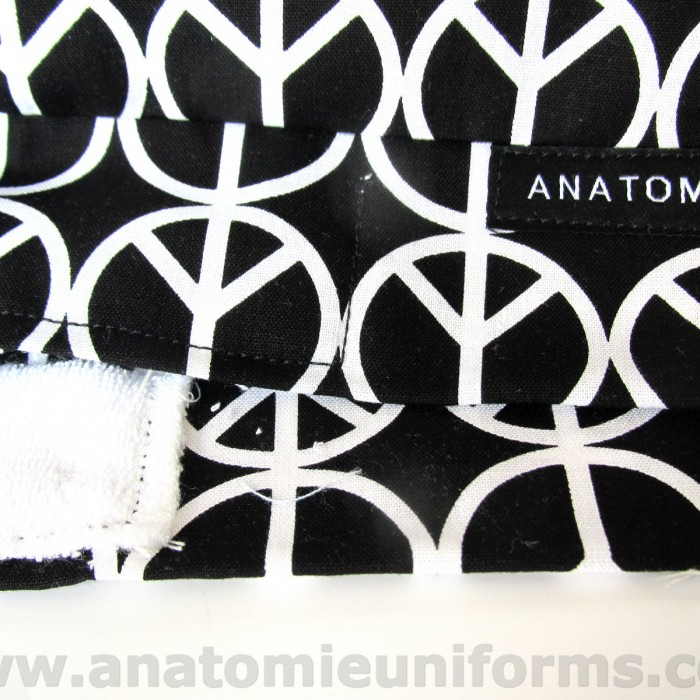ANATOMIE BANDANA Surgical Peace Symbol  - 016c
