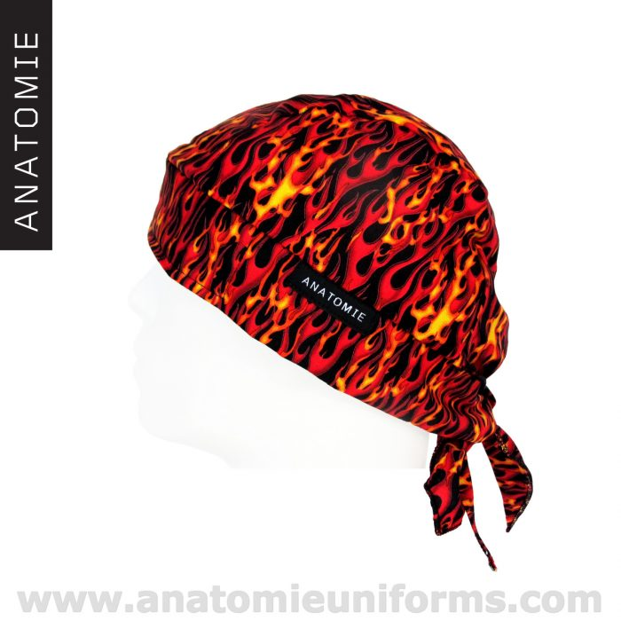 ANATOMIE BANDANA bandanas médicaux flammes – 017