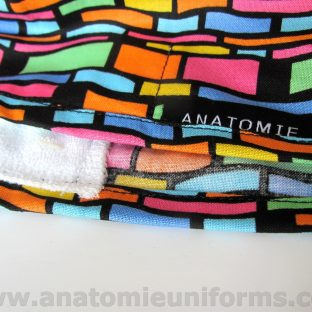 Surgical Caps for doctors Colourful Abstract Design - ANA062