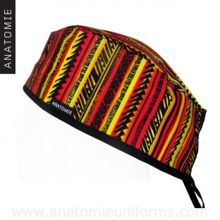 Surgical Caps Ethnic Tribal - 0129