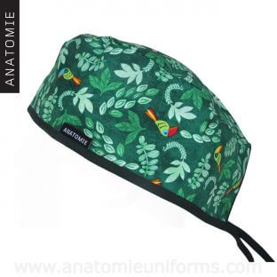 Surgical Caps Jungle Toucan - 0104